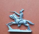 Indianer mit Revolver zu Pferd