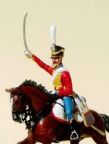 Husar (Aufsitzer /ohne Pferd).  Grand Armee,  Frankreich, 1805 - 1815