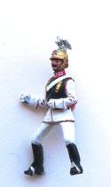Kürassier, Regiment Garde du Corps /Preußen um 1900/ Aufsitzer (ohne Pferd)
