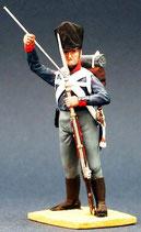 Musketier im Gefecht, ladend. Preußen 1809 - 1815