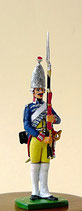 Grenadier vom Leib- Bataillon Garde No. 15 , Preußen um 1756