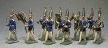 Regimentsmusik / 1. Garde-Regiment zu Fuß, um 1910 / Georg Heyde / Dresden