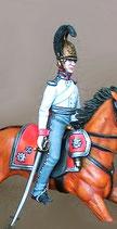 Kürassier-Offizier, Regiment Garde du Corps / Preußen 1809 - 1815