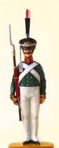 Unteroffizier, Zarengarde.  Russland 1812 - 1815