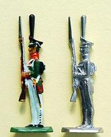 Grenadier, Präsentiert das Gewehr. Russland 1812 - 1815