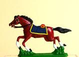 Pferd mit Sattel im Galopp / 2. Typ