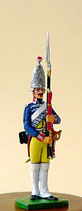 Grenadier vom Leib-Bataillon Garde No. 15, Preußen, 1756