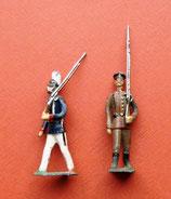 Zwei Infanteristen vom 1900 / Georg Heyde / Dresden