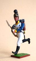 Infanterist stürmend / Bayern 1809 -1815
