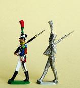Gardist, Junge Garde. Garde Impériale, Frankreich 1812 - 1815