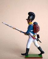 Infanterist vorgehend / Bayern 1809 - 1815