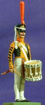 Trommler, Zarengarde.  Russland 1812 - 1815