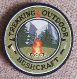 Bushcraft, Trekking und Outdoor Patch