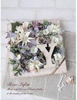 Initial Flower Box(イニシャルフラワーボックス)Mサイズ