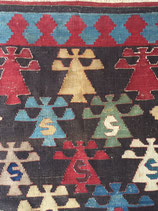 Kazak antique kilim