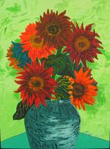 """Neo - Primitive Kunst /Acryl gegenständlich:  """"  Prado Rosso """""""