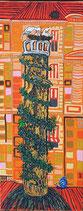 "Neo - Primitive Kunst / Acryl figurativ:   "" Berns Biotop """