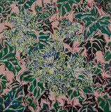 """Neo - Primitive Kunst / Acryl abstrakt:  """"  Heddera frizante  """""""