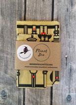 Bienenwachstuch 3er Set im Glockenstolz-Design