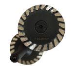 Mini Trennscheibe Turbosegment für Stabschleifer
