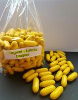 Ingwer - Lakritz - Dragees