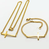 Collier + bracelet