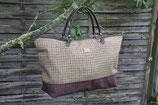 Tweed- Reisetasche