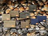 Tweed-Etuis, verschiedene Größen