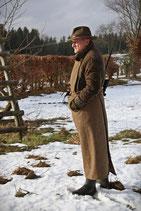 Tweed-Ansitzschürze
