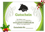 Grimm-Waldhunde Gutschein