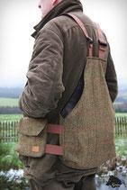 Tweed- Trainingsweste