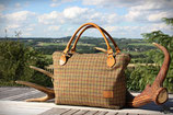 Tweed- Handtasche
