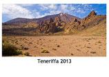 Teneriffa Kalender 2013 weiss