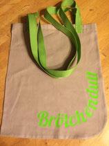 Stoffdutt Beige - Grün