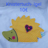 Knistertuch Igel