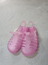 Plastik-Sandalen rosa Gr. 33 NEU