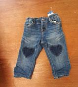 Jeans gefüttert Gr. 74 (15)