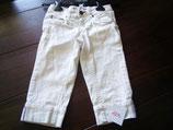 Weisse 7/8 Jeans Gr 128 (129)