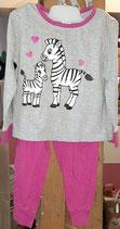 Pyjama Zebra Motiv Gr. 98