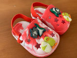 Plastik-Schuhe Gr. 16/17 NEU