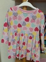 Buntes Kleid Langarm