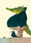 Erlbruch - Krokodil
