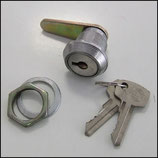 Zylindereinbauschloß S I ohne Staubverschluß ( Briefkastenschloß S I ), kleiner Schlüssel