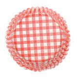 Cupcake Förmchen rot-weiß kariert (54 Stück)