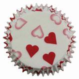 Cupcake Förmchen Herzen (60 Stück)