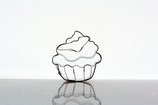 Ausstecher Cupcake