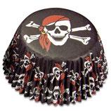 Cupcake Förmchen Mini Pirat (50 Stück)