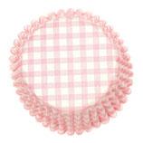 Cupcake Förmchen rosa- weiß kariert (54 Stück)