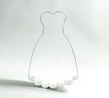 Ausstecher Brautkleid