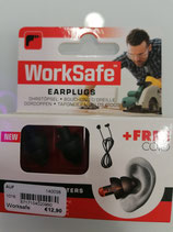 WorkSafe Ohrstöpsel + FREE Cord (special work filters)